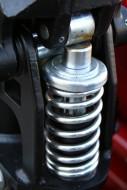 Opel Astra F wymiana tylnych amortyzatorów i sprężyn.